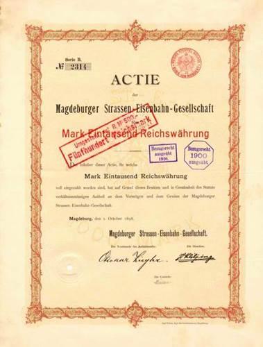 Magdeburger Strassen-Eisenbahn-Gesellschaft