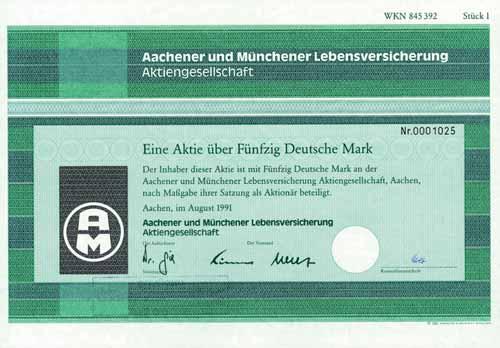Aachener und Münchener Lebensversicherung
