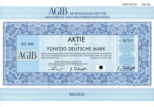 AGIB AG für Grundbesitz und Industriebeteiligungen
