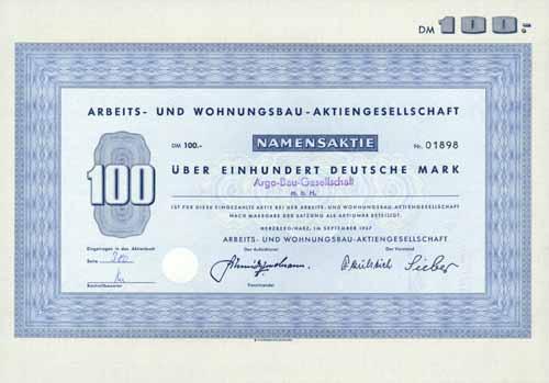 Arbeits- und Wohnungsbau-AG