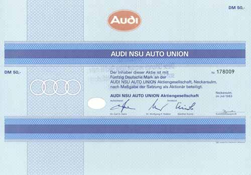 Audi NSU Auto Union
