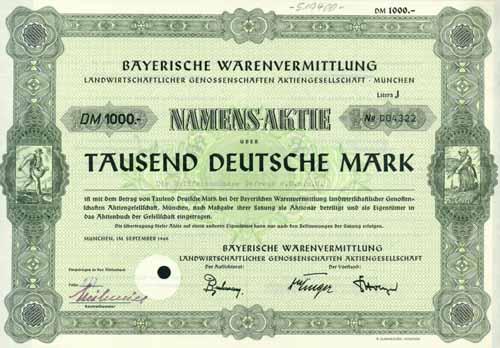 Bayerische Warenvermittlung landwirtschaftlicher Genossenschaften