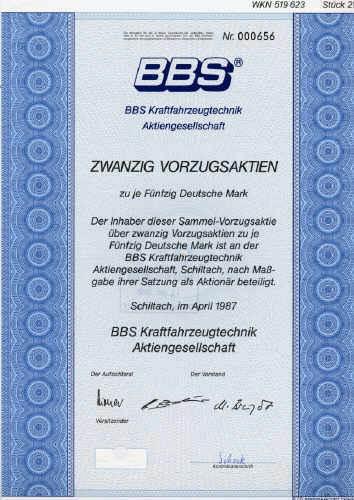 BBS Kraftfahrzeugtechnik
