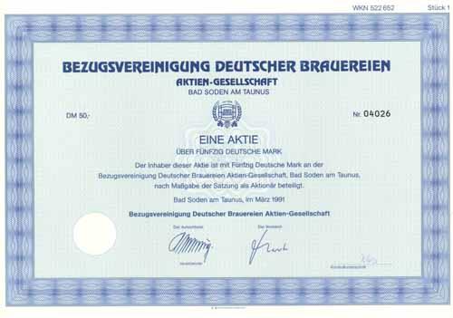 Bezugsvereinigung Deutscher Brauereien