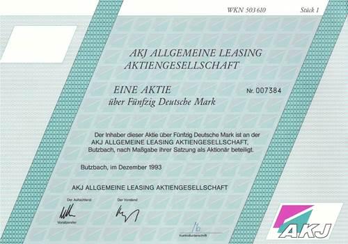 AKJ Allgemeine Leasing