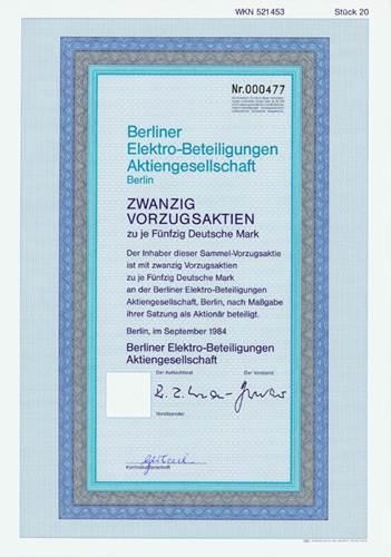 Berliner Elektro-Beteiligungen