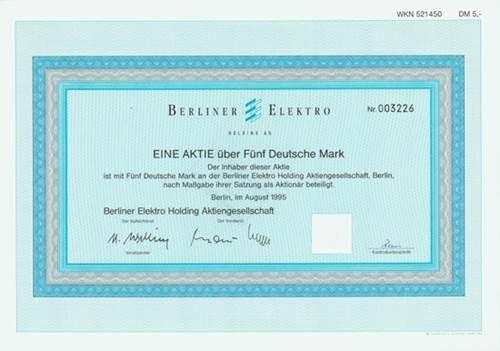 Berliner Elektro Holding