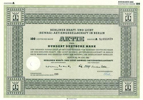 Berliner Kraft- und Licht (BEWAG)-AG