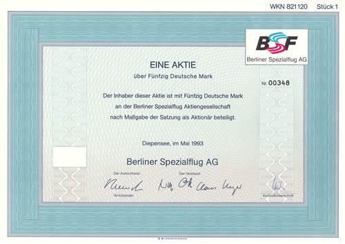 Berliner Spezialflug