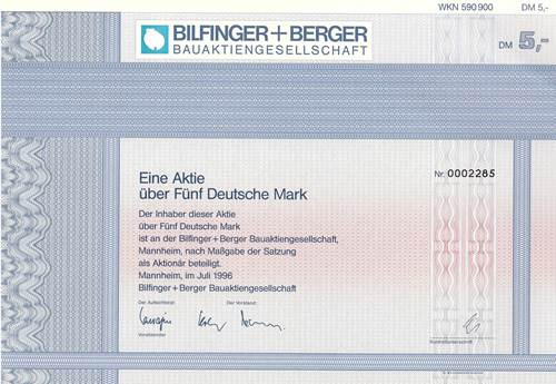 Bilfinger + Berger