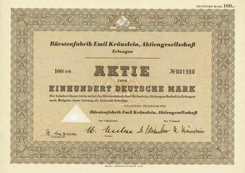 Bürstenfabrik Emil Kränzlein