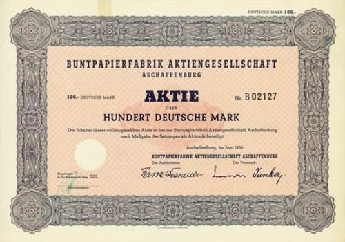Buntpapierfabrik Aschaffenburg