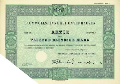 Baumwollspinnerei Unterhausen