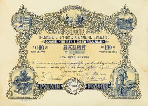 Rodopi Industrie- und Handels-AG