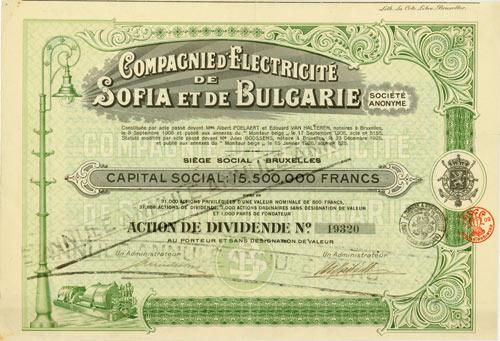 Compagnie d'Electricité de Sofia et de Bulgarie