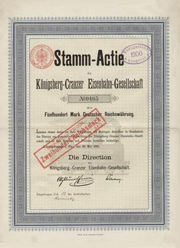 Königsberg-Cranzer Eisenbahn-Gesellschaft