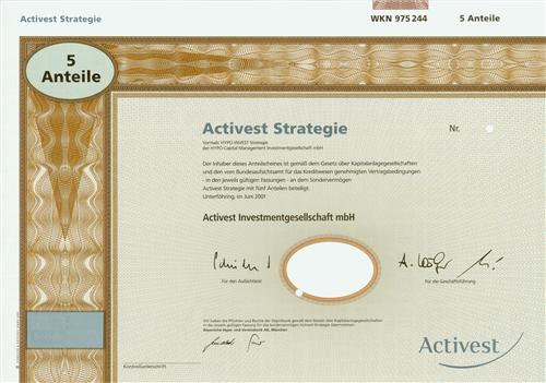 Activest Investmentgesellschaft mbH