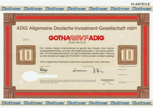 ADIG Allgemeine Deutsche Investment-Gesellschaft mbH