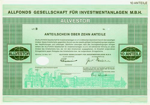 Allfonds Gesellschaft für Investmentanlagen mbH