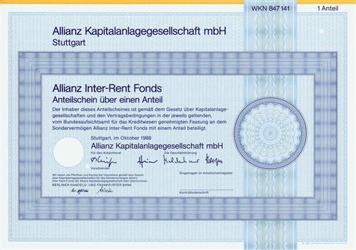Allianz Kapitalanlagegesellschaft mbH