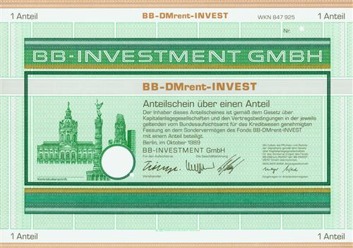 BB-INVESTMENT GmbH