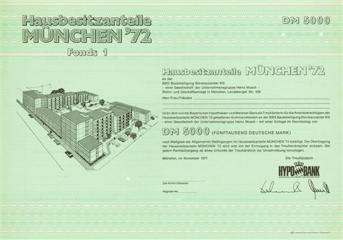 BBG Baubeteiligung Bürobaucenter KG