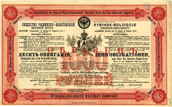 Rybinsk-Bologoje Eisenbahn-Gesellschaft