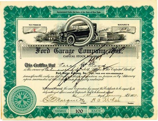 Ford Garage Company Inc.