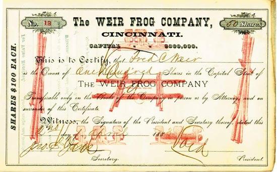 Weir Frog Company