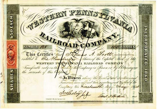 Western Pennsylvania Railroad Company