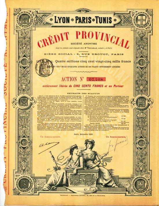 Crédit Provincial Société Anonyme