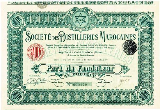 Société des Distilleries Marocaines