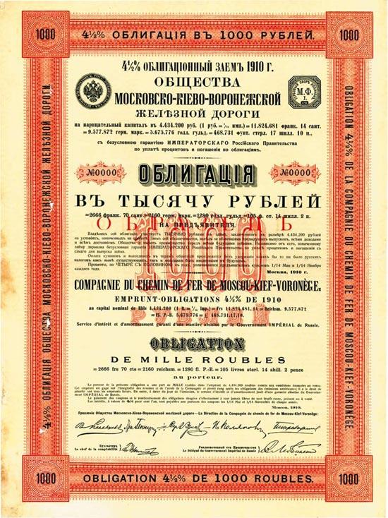 Compagnie du Chemin de Fer de Moscou-Kief-Voronège