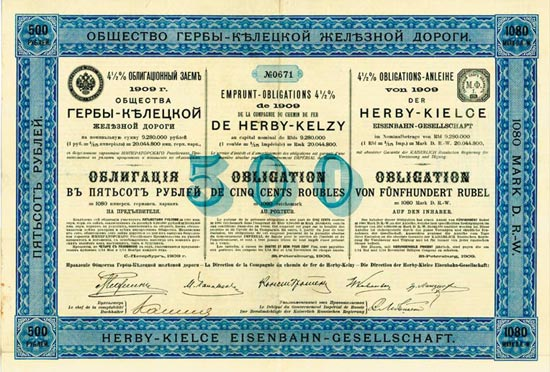 Herby-Kielce Eisenbahn-Gesellschaft