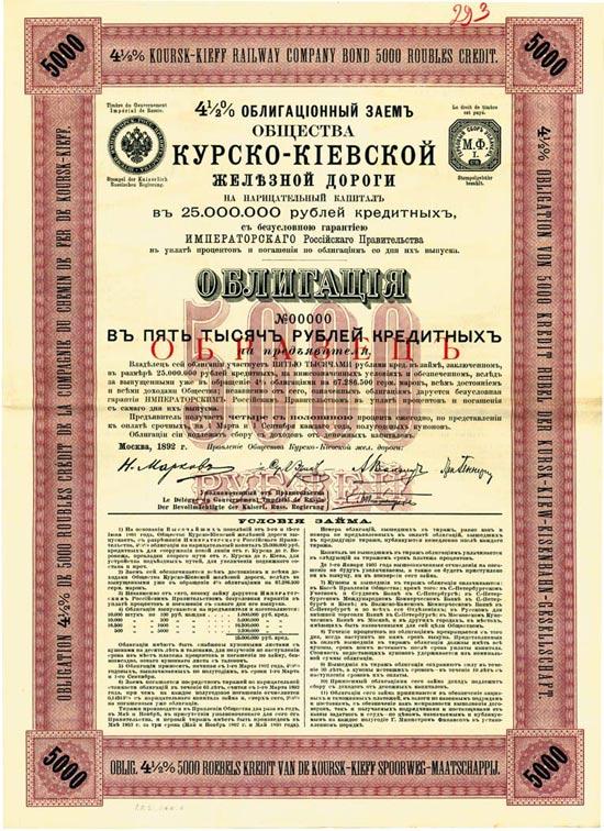 Kursk-Kiew-Eisenbahn-Gesellschaft