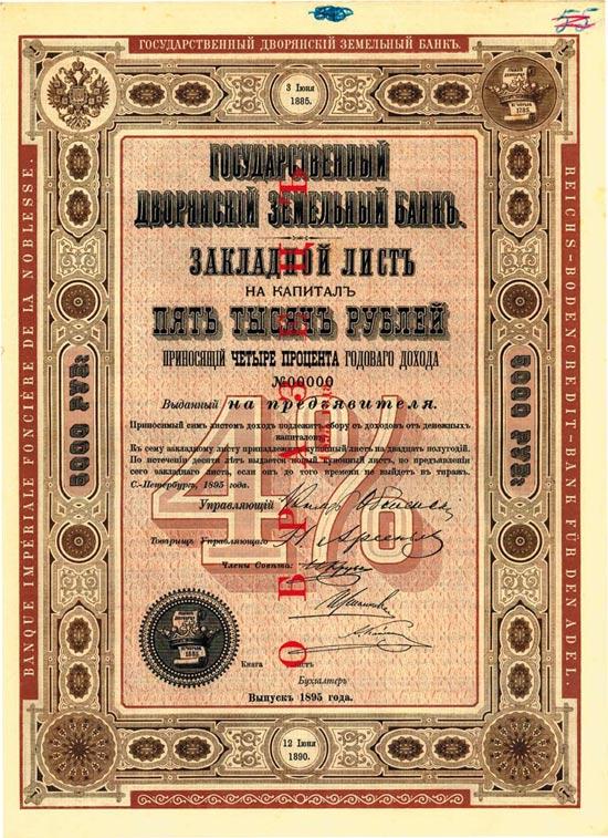 Reichs-Bodencredit-Bank für den Adel