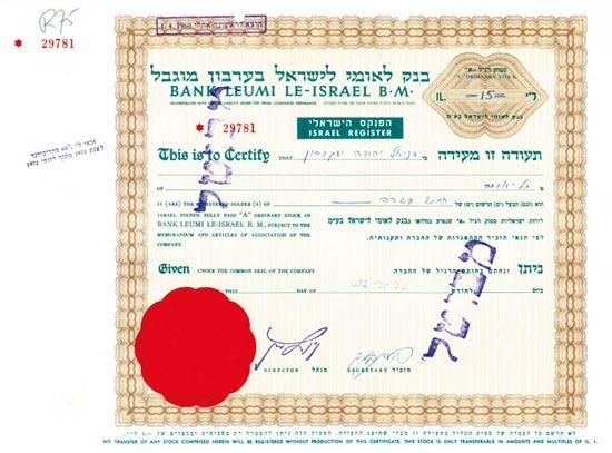 Bank Leumi Le-Israel B. M.