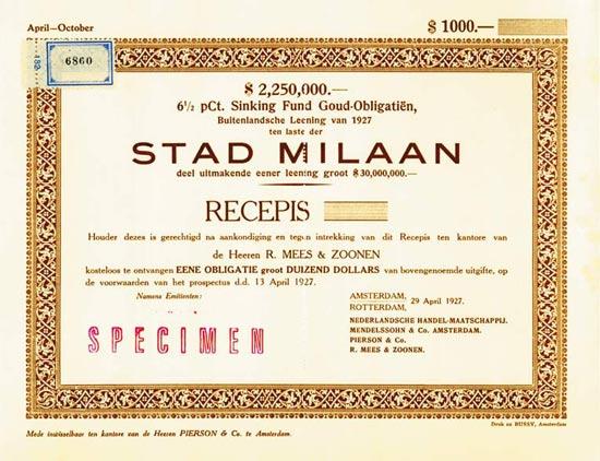 Stad Milan