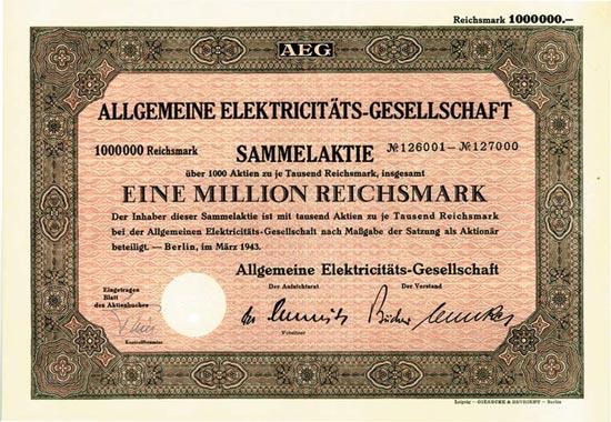 Allgemeine Elektrizitäts-Gesellschaft