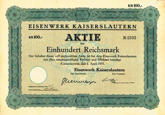 Eisenwerk Kaiserslautern