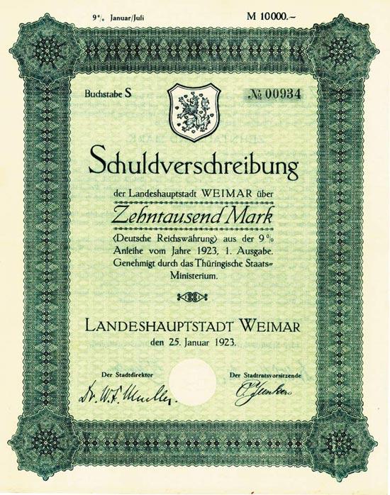 Landeshauptstadt Weimar