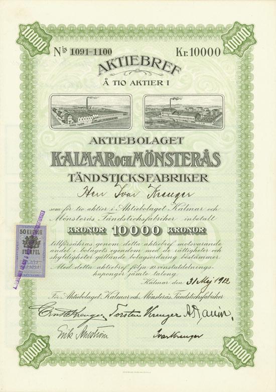 Aktiebolaget Kalmar och Mönsterås Tändsticksfabriker