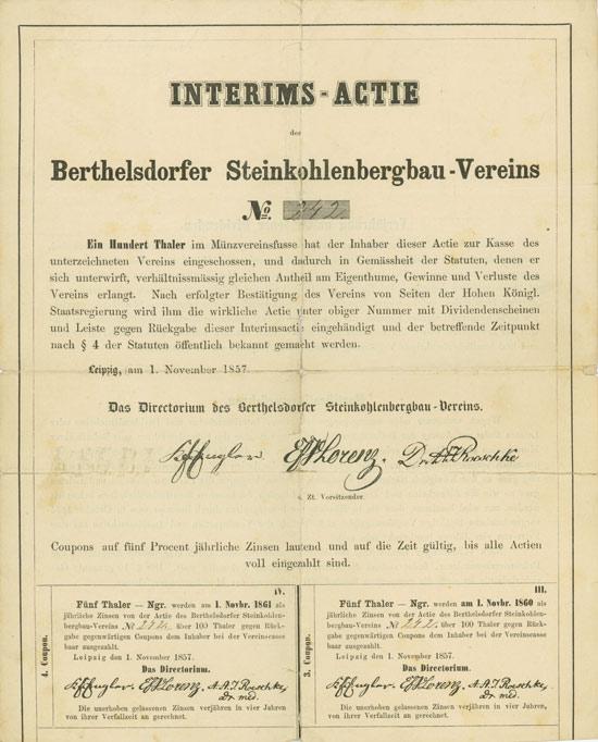 Berthelsdorfer Steinkohlenbergbau-Verein