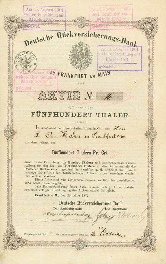 Deutsche Rückversicherungs-Bank
