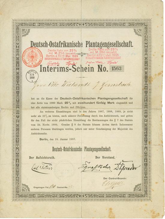 Deutsch-Ostafrikanische Plantagengesellschaft