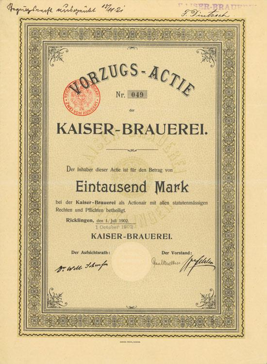 Kaiser-Brauerei