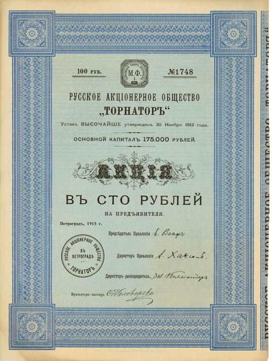 Russische AG Tornator