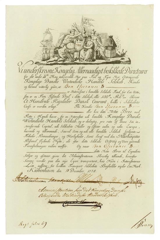 Kongelige Danske Westindiske Handels Selskab