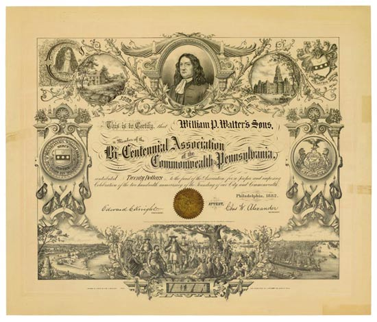 Bi-Centennial Association of the Commonwealth of Pennsylvania