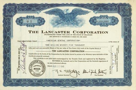 Lancaster Corporation